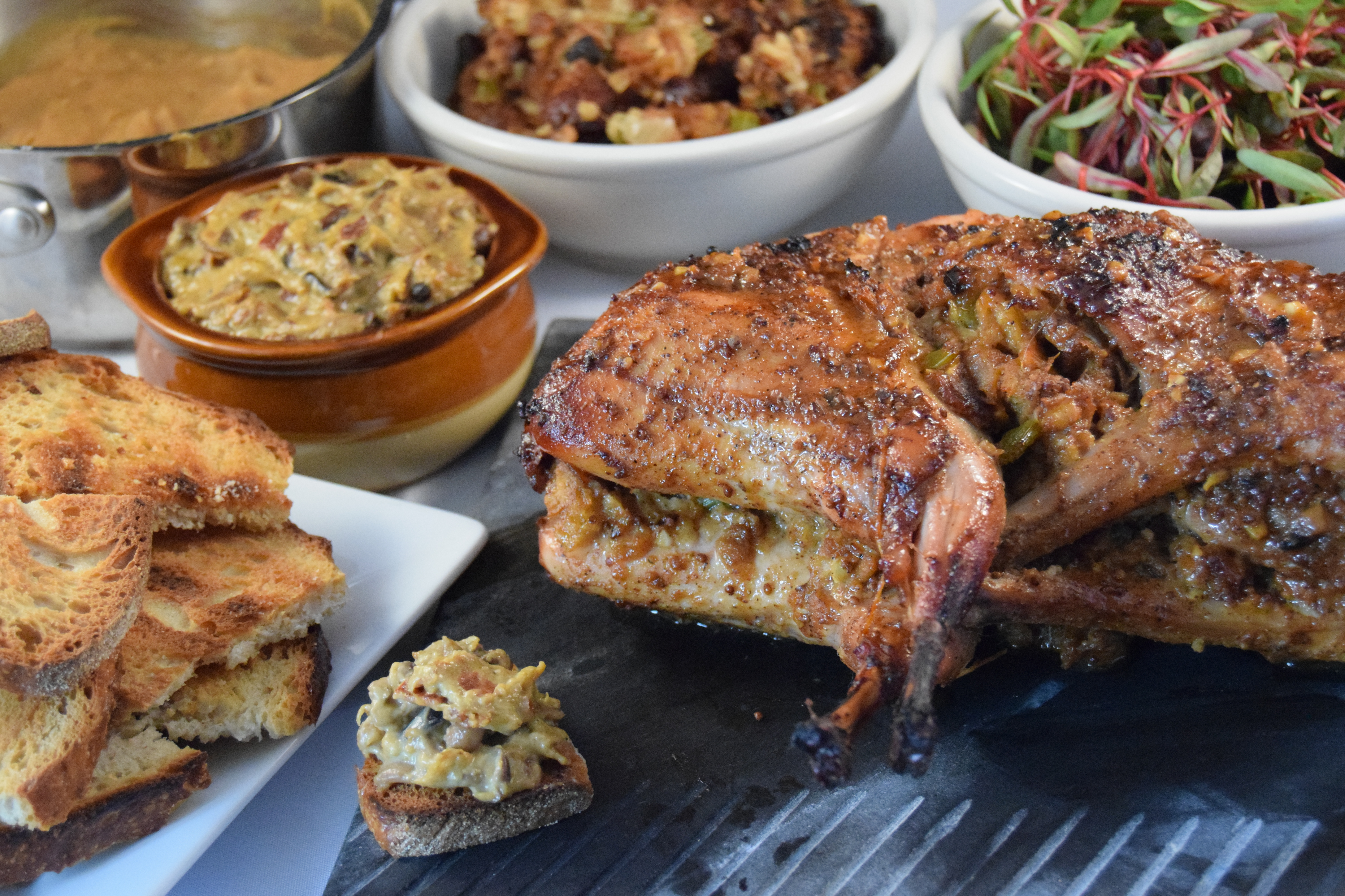 whole roasted rabbit for easter aka let u0027s eat the easter bunny